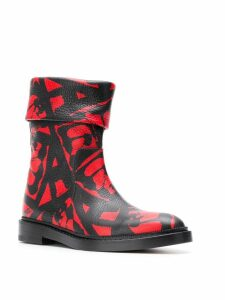 Paul Andrew Rian boots - Red