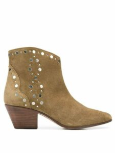 Isabel Marant Dacken ankle boots - NEUTRALS