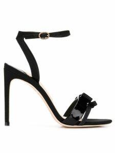 Sophia Webster bow detail sandals - Black