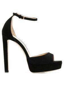 Jimmy Choo Pattie 130 sandals - Black
