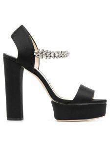 Jimmy Choo Santina 125 sandals - Black