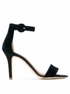 Via Roma 15 open toe sandals - Black