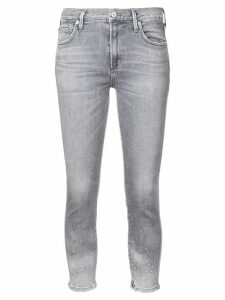 Citizens Of Humanity distressed cropped jeans - Blue