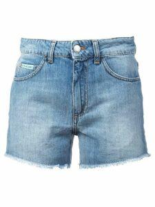 Alexa Chung high rise shorts - Blue