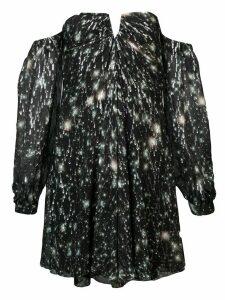 Nicole Miller off-the-shoulder dress - Black
