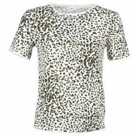 Suncoo  MACHA  women's T shirt in White