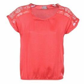 Vero Moda  SATINI  women's Blouse in Red