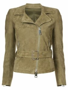 Sylvie Schimmel Ginger biker jacket - Green