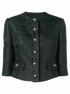 Dolce & Gabbana cropped button jacket - Black