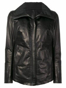 Isaac Sellam Experience padded biker jacket - Black