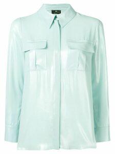 Elisabetta Franchi loose fitted blouse - Blue