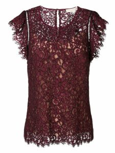 Michael Michael Kors lace blouse - Red