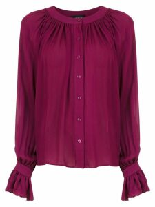 Olympiah Spinello silk shirt - Red