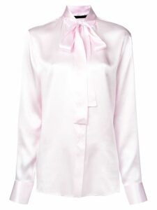 Haider Ackermann pussy bow blouse - Pink