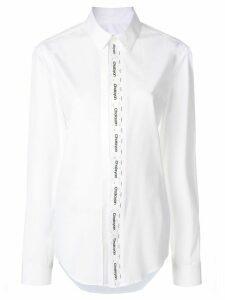 Chalayan logo print shirt - White