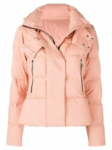 Peuterey hooded padded jacket - PINK