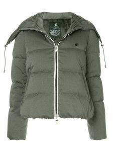 Loveless zipped padded jacket - Grey
