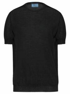 Prada shortsleeved jumper - Black