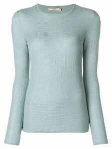 Holland & Holland long-sleeve fitted sweater - Blue