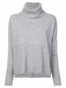 Derek Lam 10 Crosby Bond turtleneck jumper - Grey