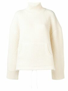 Undercover turtleneck sweater - White