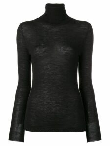 Cashmere In Love Shayne roll neck sweater - Black