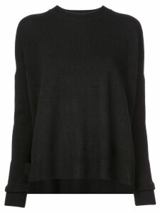 Derek Lam 10 Crosby Mullholland crew neck jumper - Black