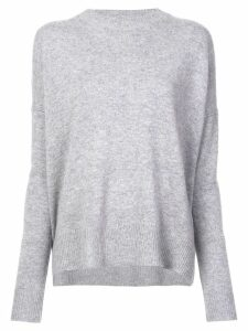 Derek Lam 10 Crosby Mullholland crew neck jumper - Grey