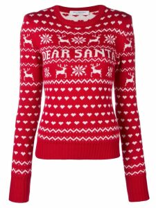 Philosophy Di Lorenzo Serafini Dear Santa jumper - Red
