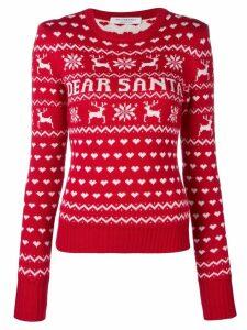 Philosophy Di Lorenzo Serafini Dear Santa jumper - Red