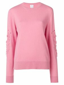 Barrie round neck jumper - Pink