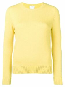 Barrie round neck jumper - Yellow