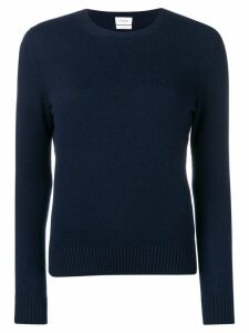Barrie ribbed neck jumper - Blue