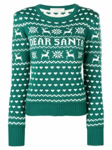 Philosophy Di Lorenzo Serafini 'Dear Santa' Christmas sweater - Green