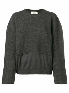 Ports 1961 loose fit jumper - Grey