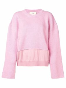 Ports 1961 round neck sweater - Pink