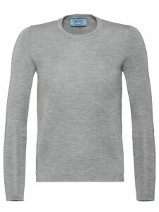 Prada Cashmere and Silk Sweater - Grey