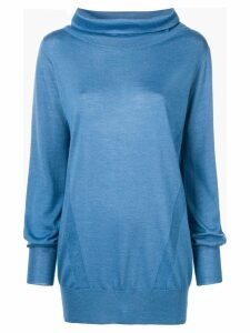 Eleventy knitted sweatshirt - Blue