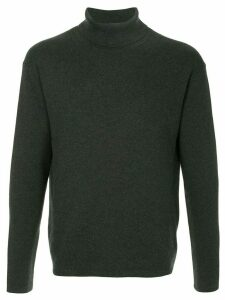 Caban roll neck jumper - Grey