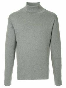 Caban roll neck jumper - Grey