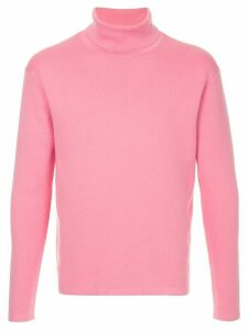 Caban roll neck jumper - PINK