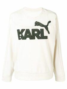 Karl Lagerfeld Karl Lagerfeld x Puma sweatshirt - NEUTRALS