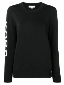 Michael Michael Kors crew neck sweatshirt - Black