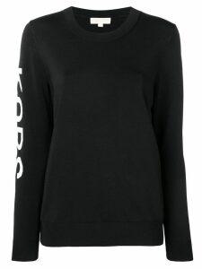 Michael Michael Kors crew neck sweatshirt - Black