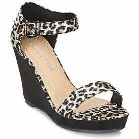 Moony Mood  IVONGA  women's Sandals in Black