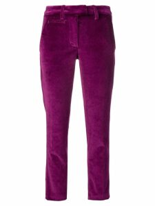 Dondup cropped skinny trousers - Purple