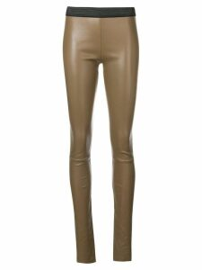 Drome skinny high waisted trousers - Brown