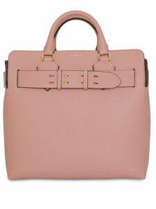 Burberry The Medium Leather Belt Bag - Pink