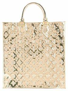 Louis Vuitton Pre-Owned Sac Plat Monogram mirrored tote bag - Gold