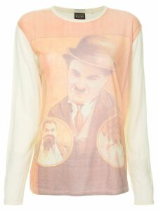 Fake Alpha Vintage Chaplin print T-shirt - Multicolour